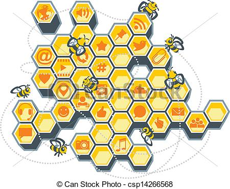 Beehives Vector Clipart EPS Images. 2,567 Beehives clip art vector.