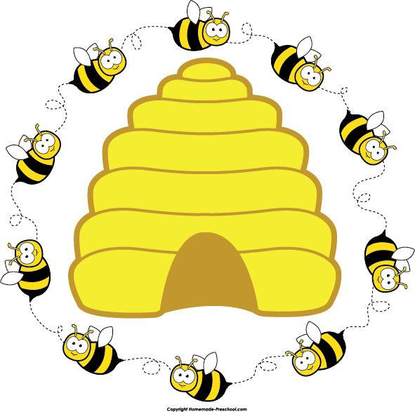 837 Beehive free clipart.