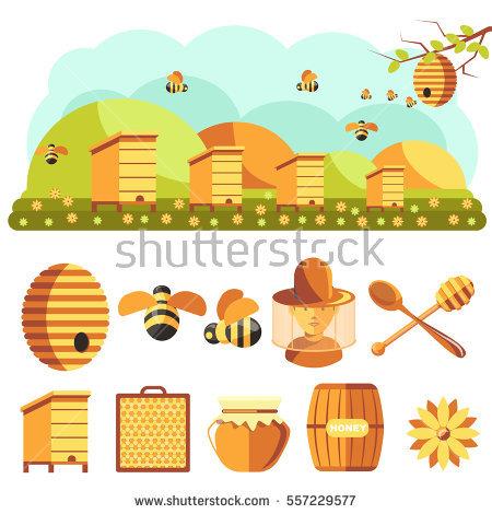 Beekeeping Stock Photos, Royalty.