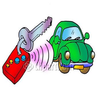 Alarm Automobile Beep Car Car Key Key Remote Car Key.