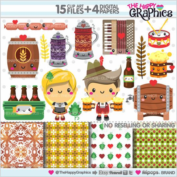 Oktoberfest party, Accessories and Graphics on Pinterest.