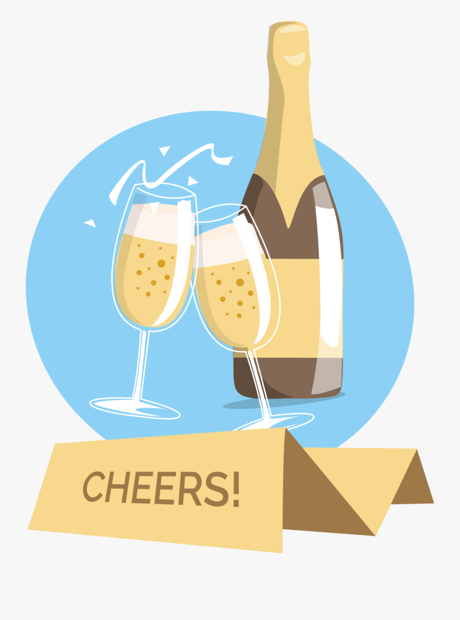 Transparent Wine Vector Png.
