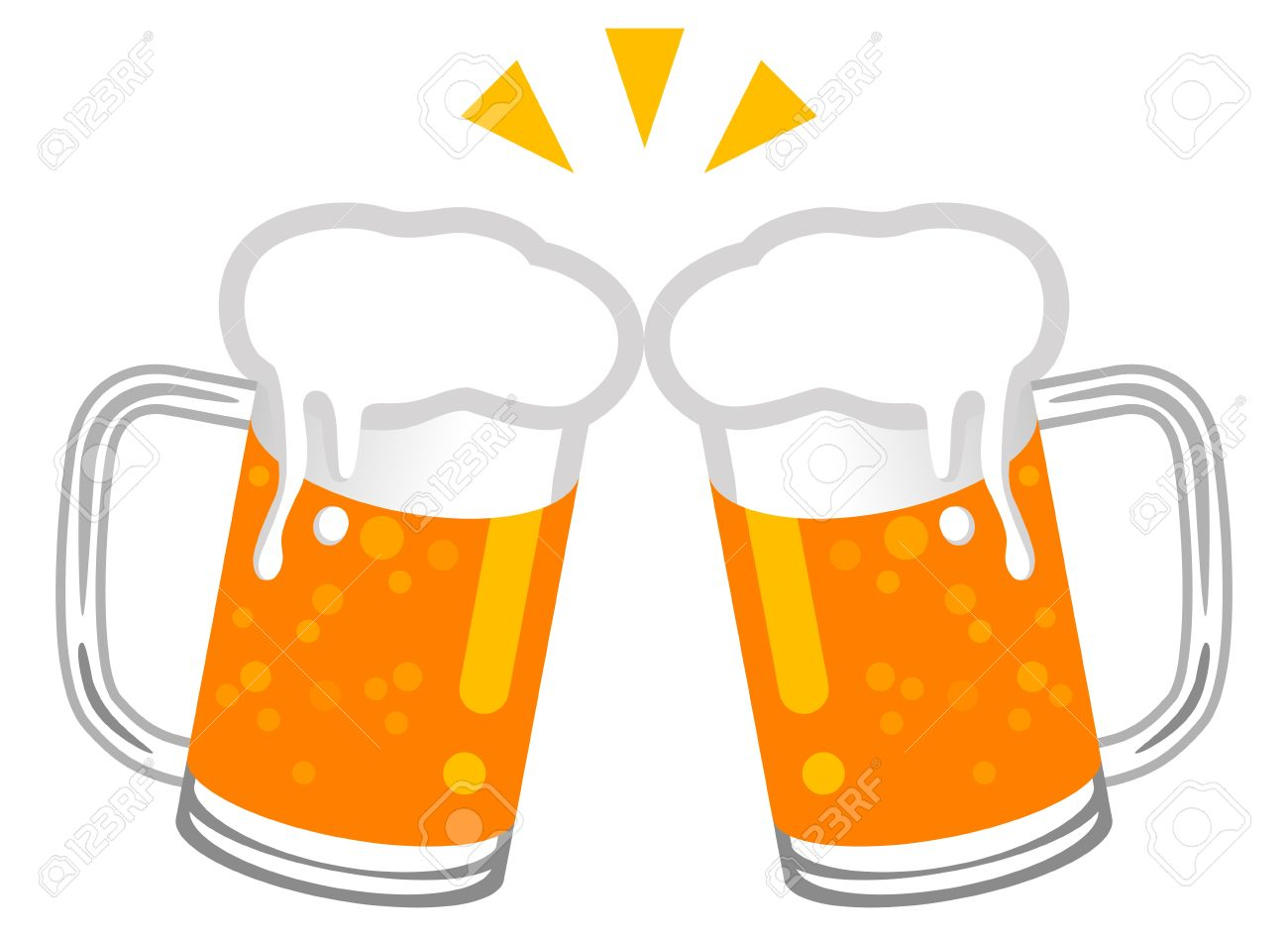 Cheers clipart draft beer, Cheers draft beer Transparent.