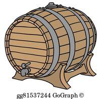 Beer Barrel Clip Art.