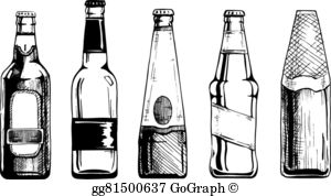Beer Bottle Clip Art.
