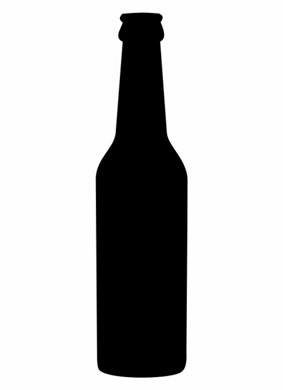 Clip Art Black And White Stock Beer Bottle Clipart.