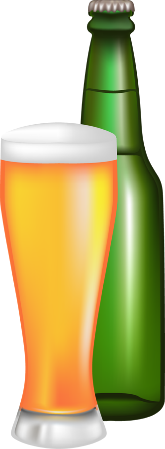 Beer bottle clipart png.