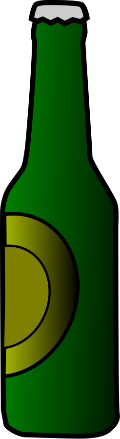 Beer Bottle Clipart, vector clip art online, royalty free design.