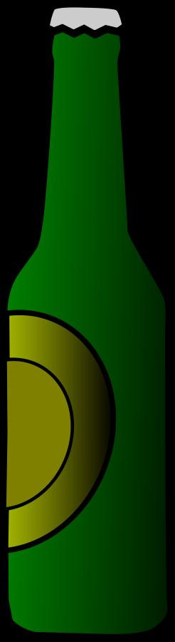 Beer Bottle Clipart, vector clip art online, royalty free design.
