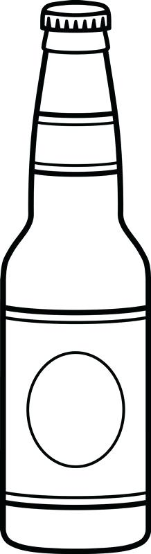 beer bottle clipart.