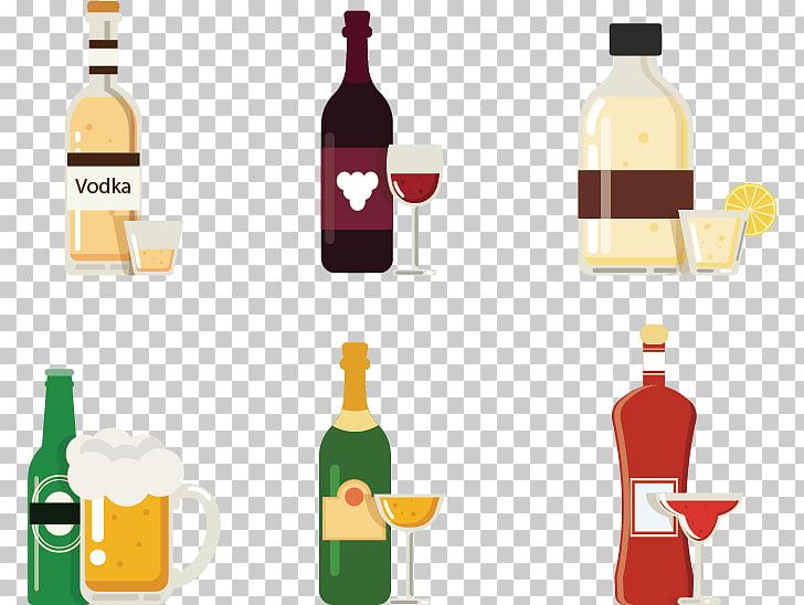 Wine Beer Vodka Alcoholic beverage, Hand.