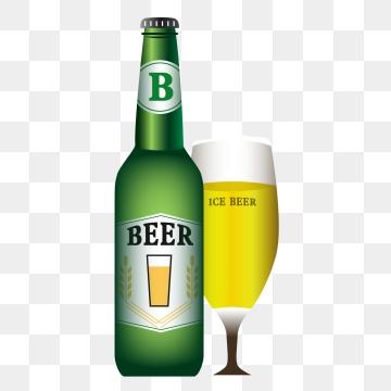 Beer Bottle PNG Images.