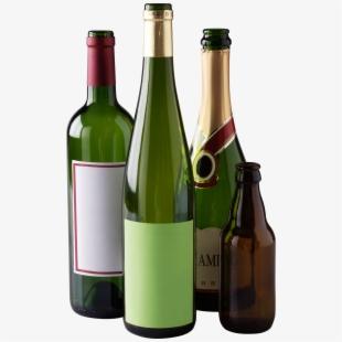 Empty Wine Bottle Png Download #151013.