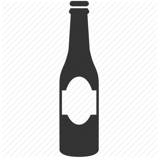 Beer Bottle Icon Png #92065.