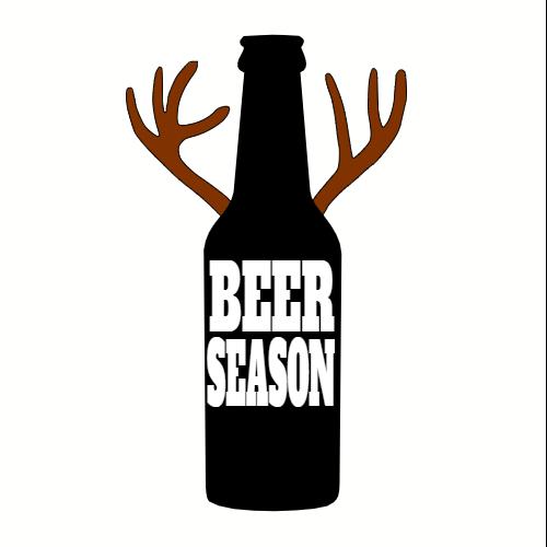 Beer Season Sticker.