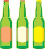 Beer Bottles Clip Art.