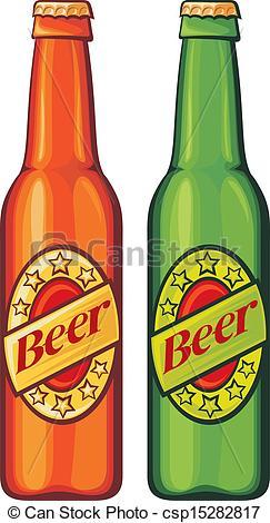 Beer bottle pictures clip art.