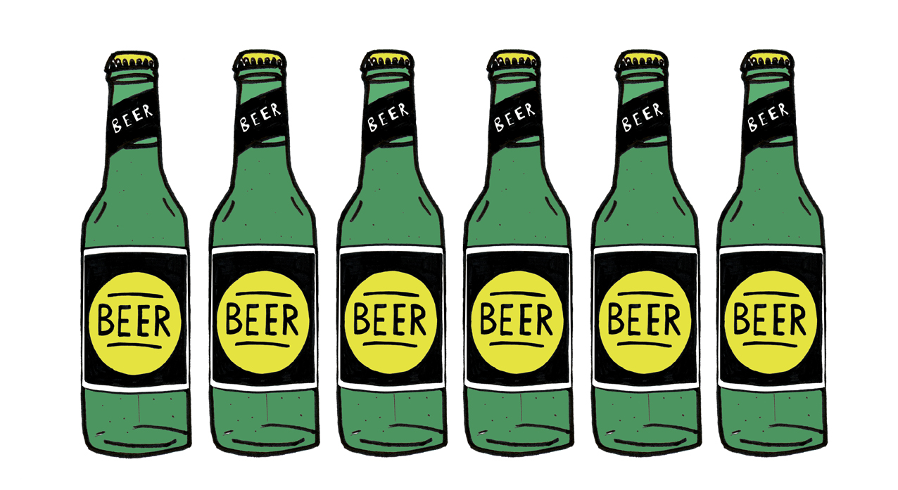 Free Beer Bottle Clipart Image.