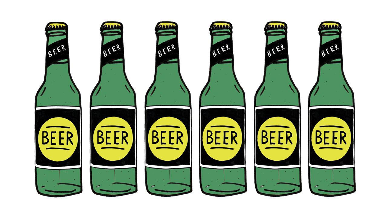 Free Beer Bottle Clipart Image.