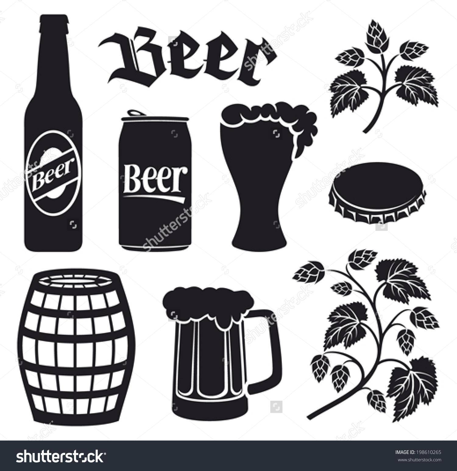 One Line Art Beer : Beer bottling clipart clipground