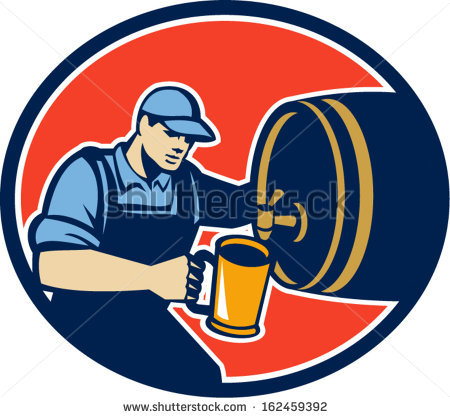 Beer Brewer Stock Photos, Royalty.