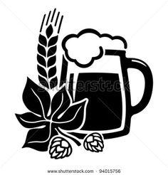 Beer Brewing Clip Art.