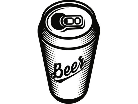 Beer can clipart 1 » Clipart Portal.