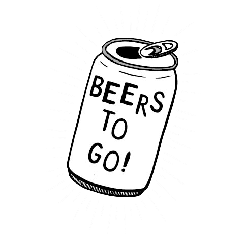 Beer can clipart black and white » Clipart Station.