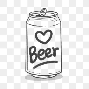 Beer Can PNG Images.