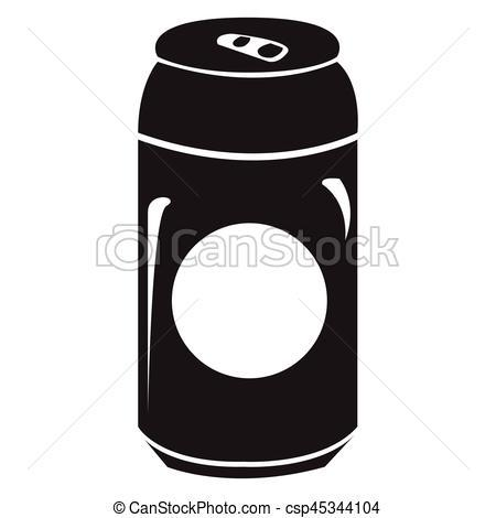 Beer can clipart black and white 8 » Clipart Portal.