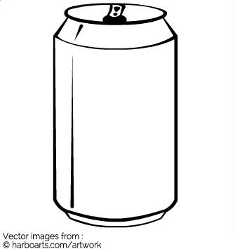 Beer Can Clipart Black And White (95+ images in Collection) Page 3.