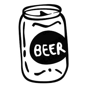 Beer Can Clip Art.