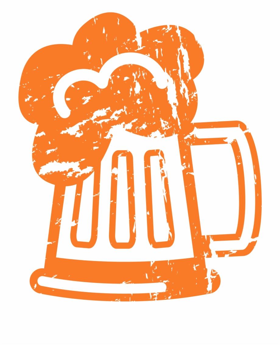 Beer Text With Cartoon Beer Mug B4000.