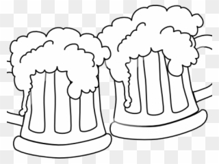 Free PNG Beer Black And White Clip Art Download.