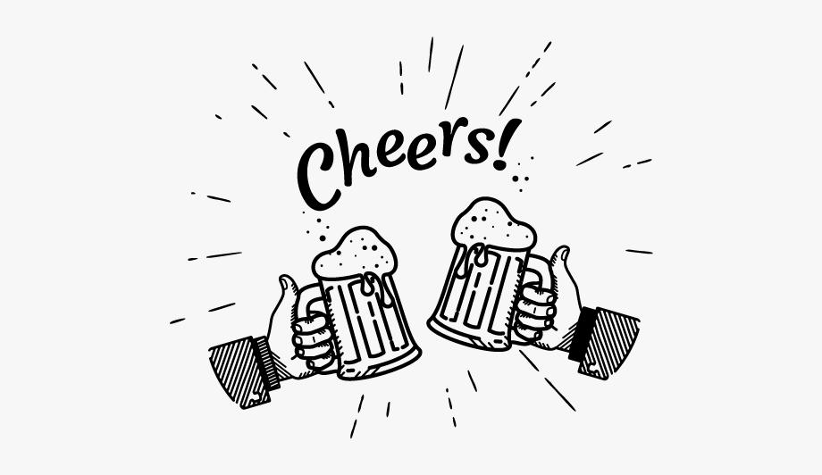 Beer Bottle Cheers Vector , Transparent Cartoon, Free.