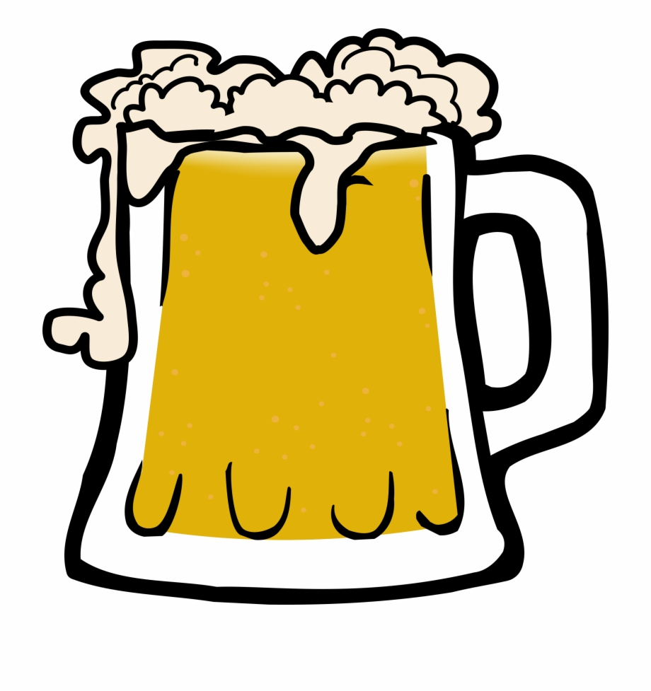 This Free Icons Png Design Of Frothy Beer.