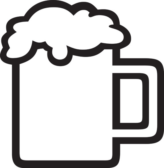 Free Beer Stein Clipart Black And White, Download Free Clip Art.