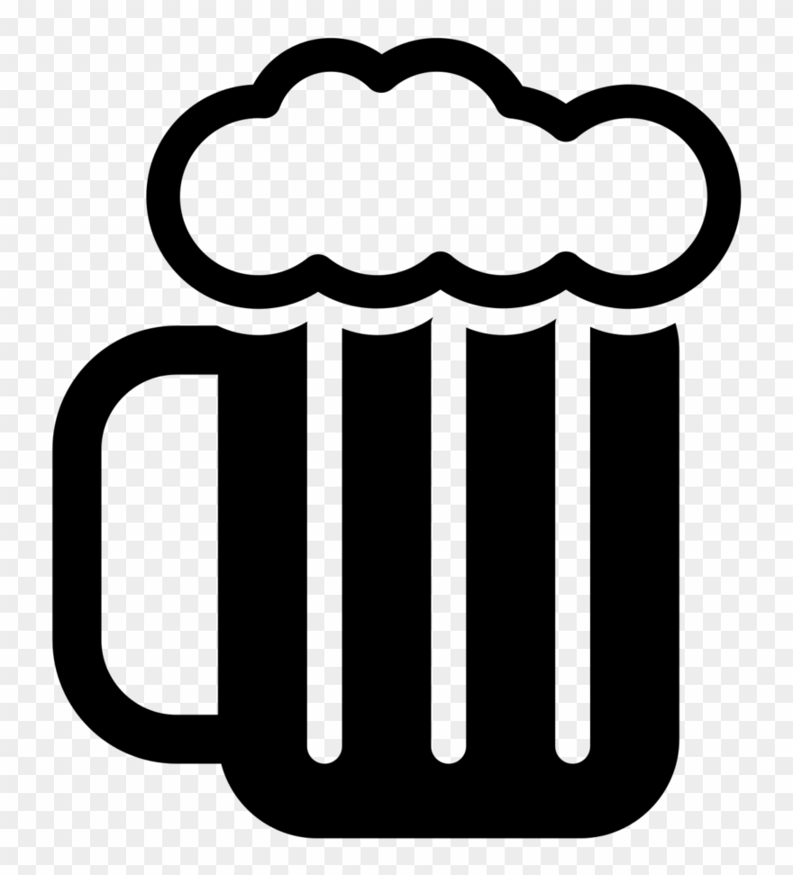 Beer Black And White Png Clipart (#46334).