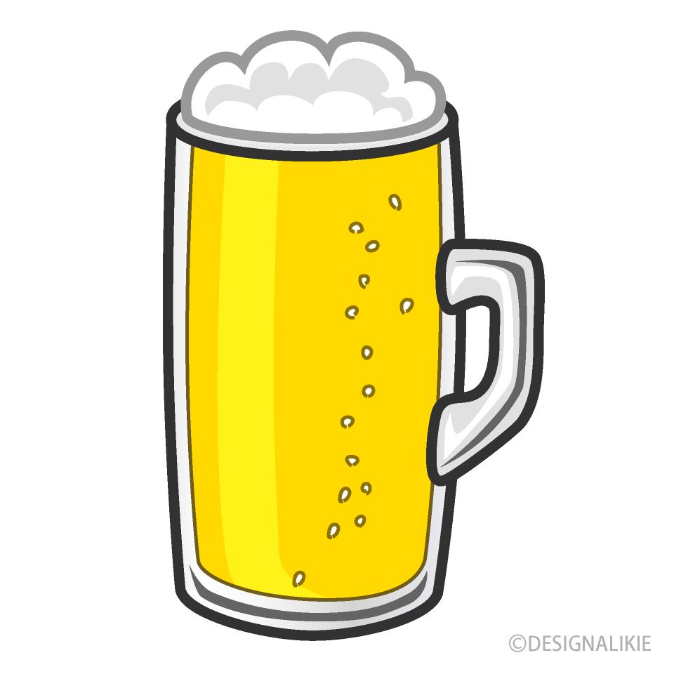 Free Beer Clipart Image|Illustoon.