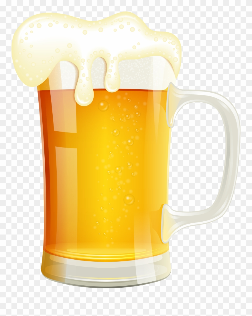 beer clipart transparent background #2