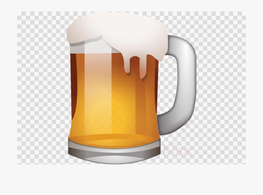 Beer Emojis Clipart Beer Glasses Emoji , Png Download.