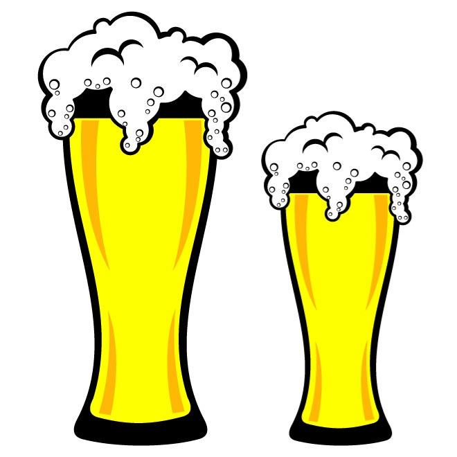 Beer foam clipart.
