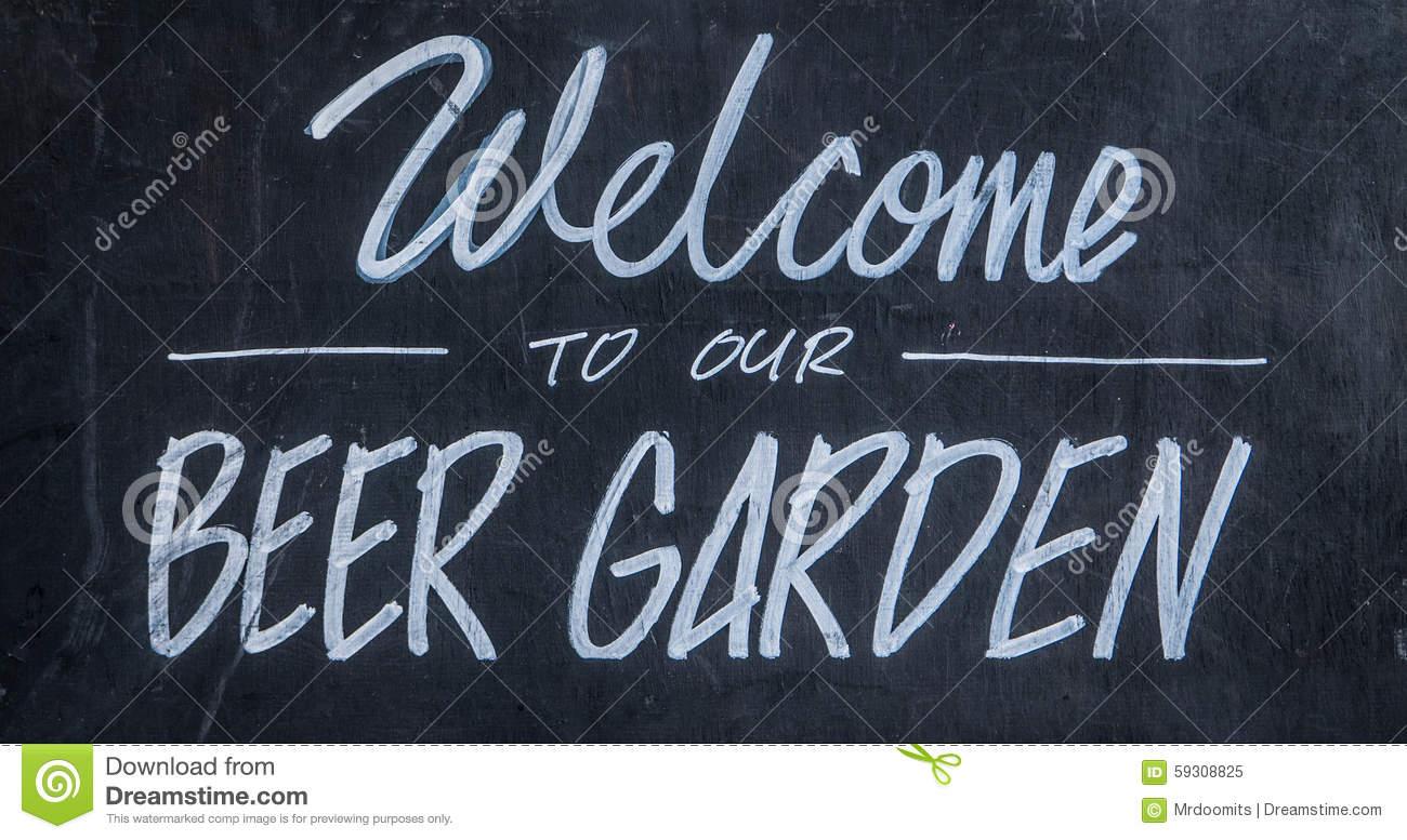Beer garden clipart.