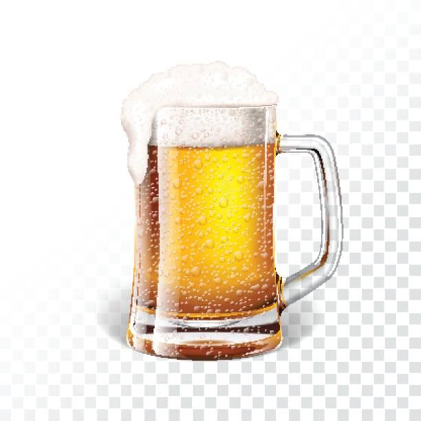 Best Beer Glass Illustrations, Royalty.