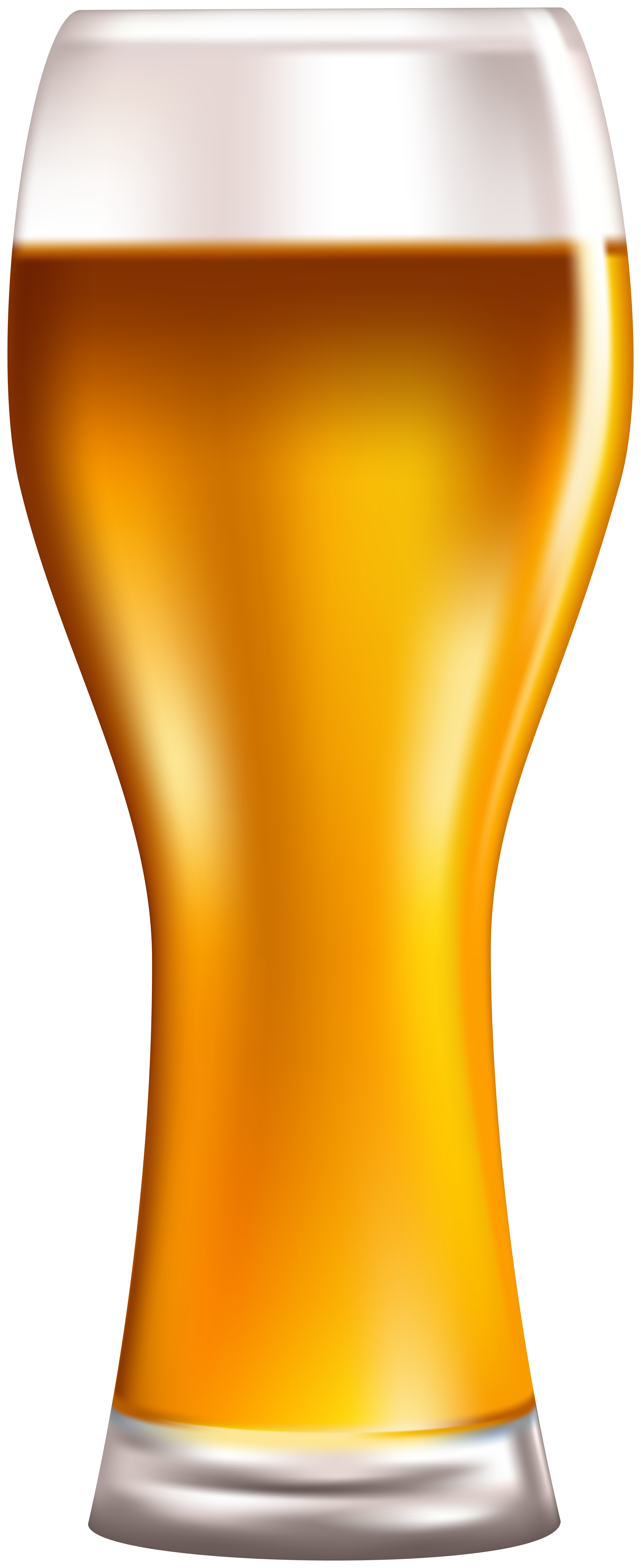 Glass Beer PNG Clip Art Image.