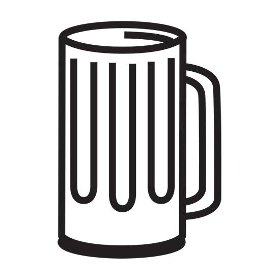 Beer Mug Clip Art Black And White.