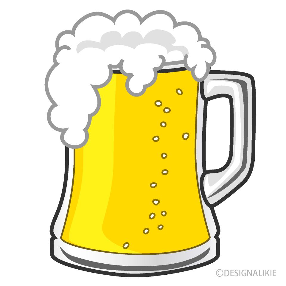 Free Large Beer Mug Clipart Image|Illustoon.
