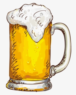 Free Beer Glass Clip Art with No Background.