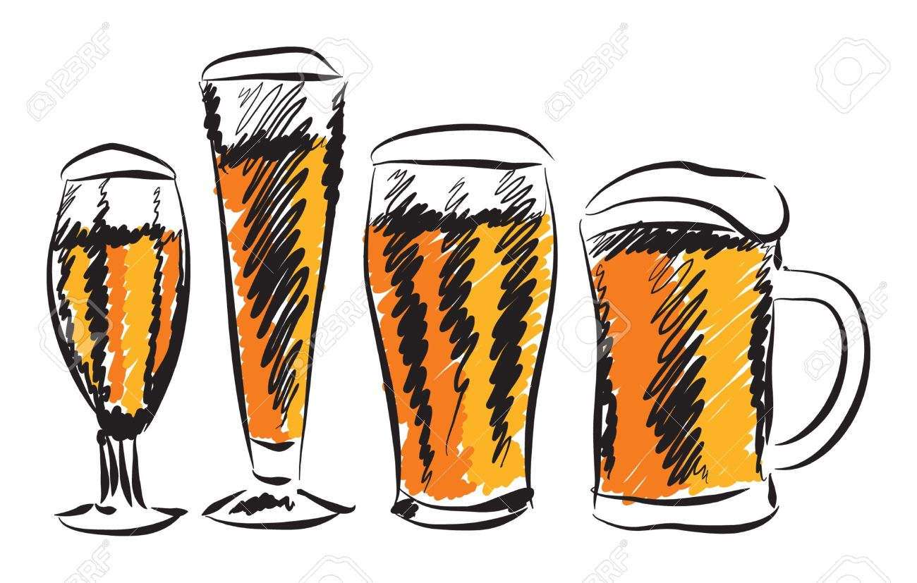 Beer glass clipart 3 » Clipart Station.