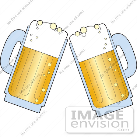 Beer Toast Clipart.